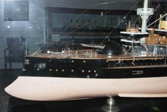 Модель броненосца 12 апостолов, Военно-морской музей