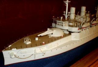 Модель броненосца Император Александр 2, Военно-морской музей