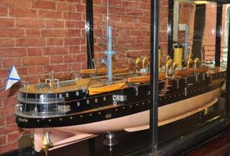 Модель броненосца Император Николай 1, Военно-морской музей