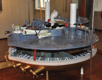 Модель броненосца Новгород, Военно-морской музей