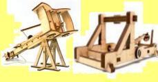 Модели старинных военых машин
