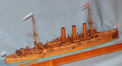 Готовая Модель крейсера Аврора 20.