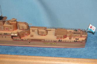 готовая  модель-копия ручной работы корабля Беззаветный 1