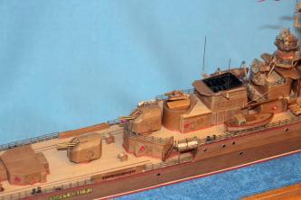 авторская модель-копия  корабля Беззаветный 4