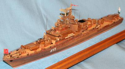 Готовая  модель корабля Беззаветный