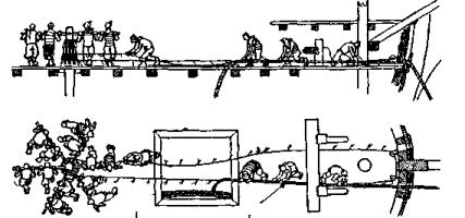 Модель корабля Ингерманланд. Кабаляринг.