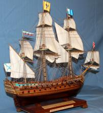 Авторская модель корабля Ингерманланд. служба