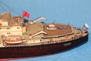 модель ледокола Ленин ручной работы 2
