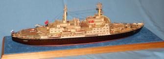 Авторская модель ледокола Ленин 3