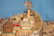 модель ледокола Ленин ручной работы 3