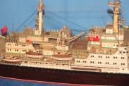 Колекционная модель ледокола Ленин 3
