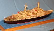 Эксклюзивная модель ледокола Ленин 3
