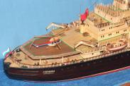 Авторская модель ледокола Ленин 4