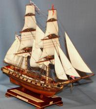 Профессиональные модели кораблей ручной работы. Бриг Меркурий 15.