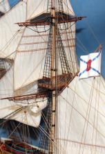 Эксклюзивные модели-копии кораблей. Бриг Меркурий 17.