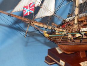 Коллекционная модель корабля. бриг Меркурий 2.