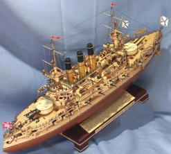 Модель бронеосца Ретвизан