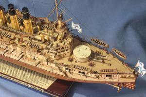 Модель броненосца Ретвизан на заказ