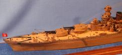Модель линкора Советский Союз