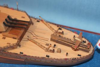 Модель корабля Советский Союз 17.