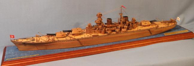 Модель линкора Советский Союз, характеристики.
