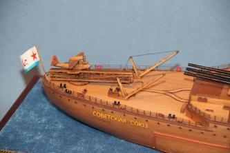 Модель корабля Советский Союз 28.