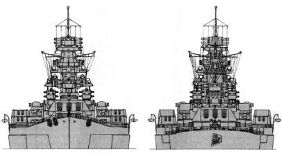 Чертёж модели корабля Советский Союз 2