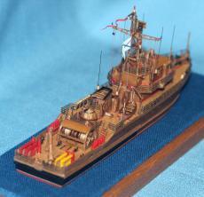модели кораблей ВМФ СССР и России, тральщик 1265 яхонт 4