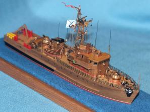 Готовая модель тральщика 1265 яхонт 7