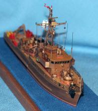 модели кораблей ВМФ СССР и России, тральщик 1265 яхонт 8