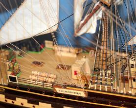 готовая модель барка Крузенштерн