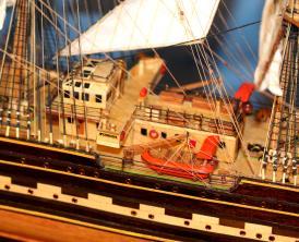 Готовая модель барка Крузенштерн.  Купить.