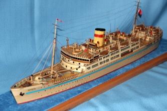 Готовая модель Лайнера Балтика
