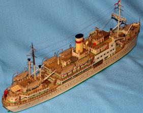 модель парохода Белоостров 11