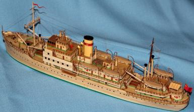 модель парохода Белоостров 13