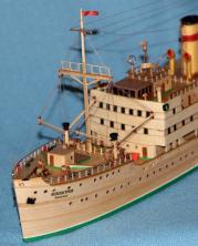 модель парохода Белоостров 2