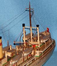 модель парохода Белоостров 3
