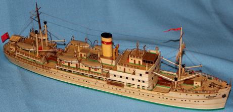 модель парохода Белоостров 4