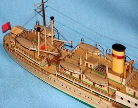 модель парохода Белоостров 5