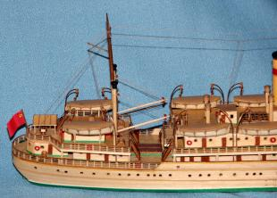 модель парохода Белоостров 8