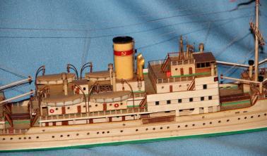 модель парохода Белоостров 9