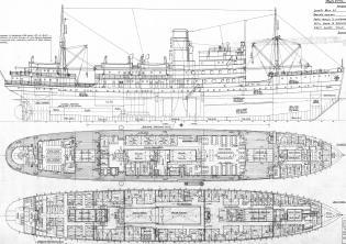 Модель парохода Белоостров