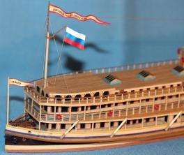 Авторские модели кораблей, пароход Великая княжна Ольга Николаевна
