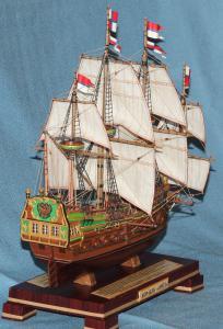 Корабль Орёл. Парусное вооружение