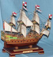 Готовая авторская модель корабля Орёл, 6.