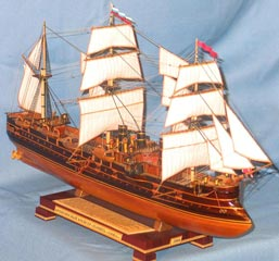 Модель корабля Память Азова, Броня