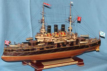 Модель корабля Потёмкин. Параметры.