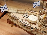 Модель корабля броненосца Ретвизан. 5
