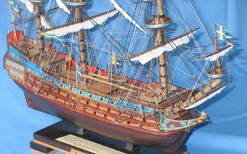 Модель корабля Vasa. Вооружение.