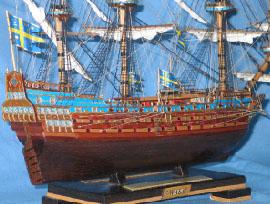 Модель корабля Vasa ручной работы. Экипаж